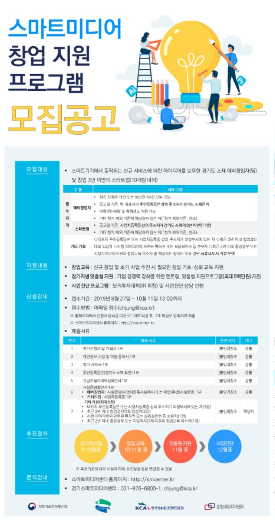 1. 스마트미디어 창업 지원프로그램 모집 연장 포스터.jpg